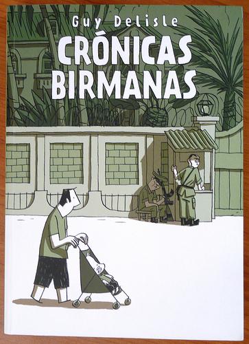 Portada libro Crónicas birmanas de Guy Delisle