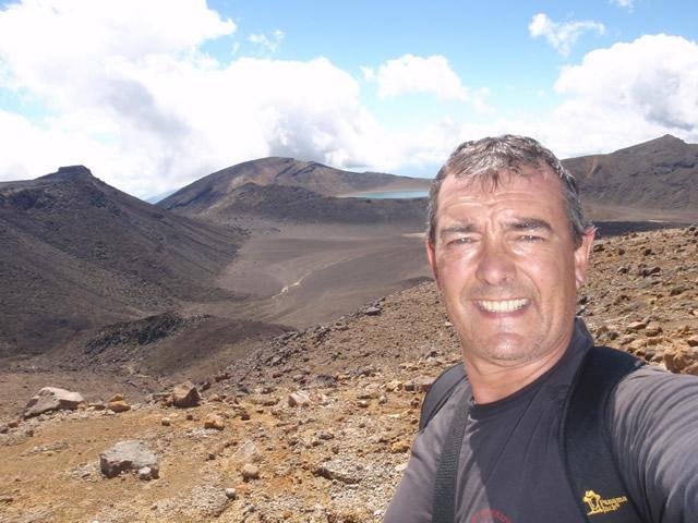 Desde la cima del Tongariro