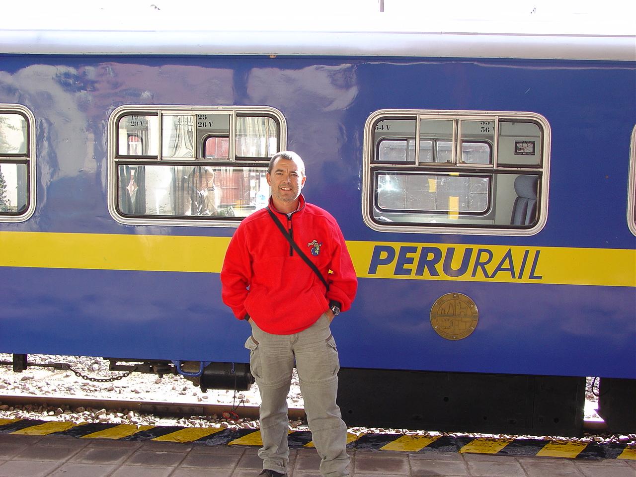 El tren, uno de mis medios de transporte favoritos, este me llevó de Perú a Bolivia