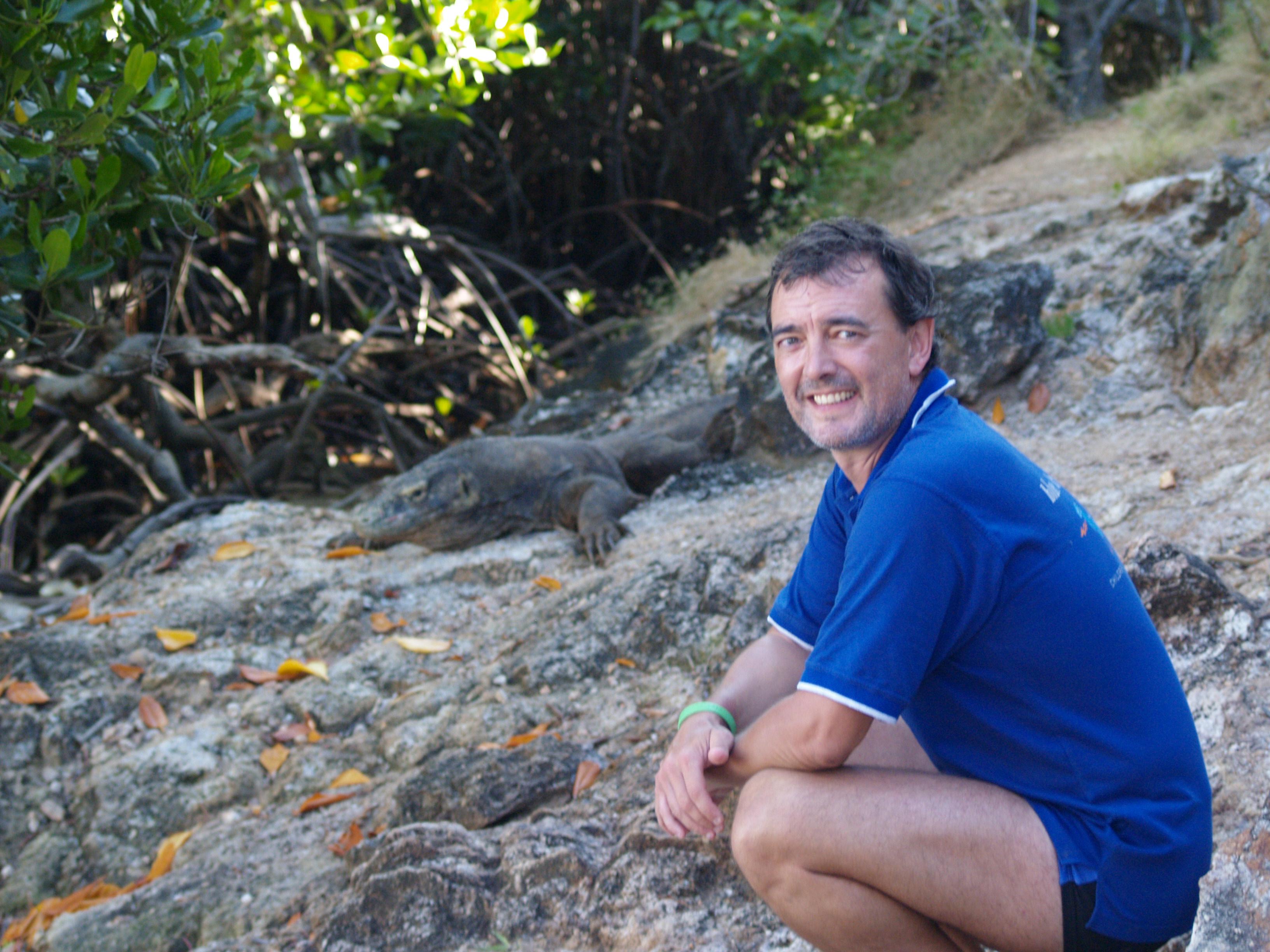 P4250716 Carlos en el Parque Nacional Komodo Indonesia