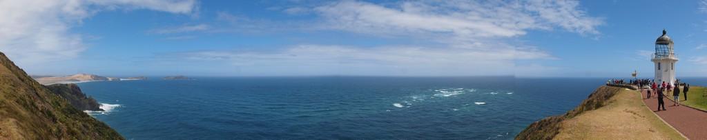 P1214557 Pano Nueva Zelanda Faro Cabo Reinga