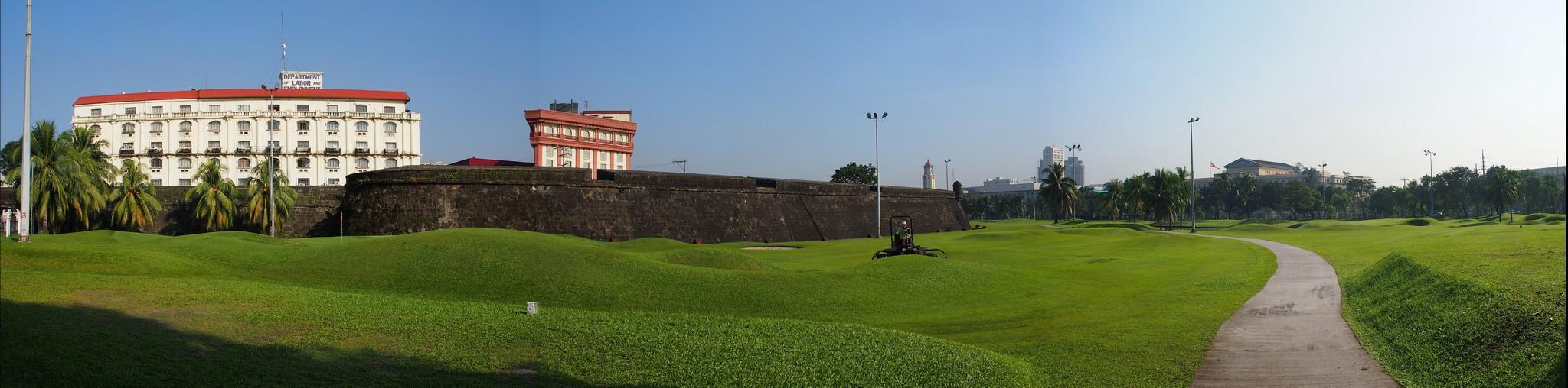 P1276645 Pano Manila Intramuros murallas