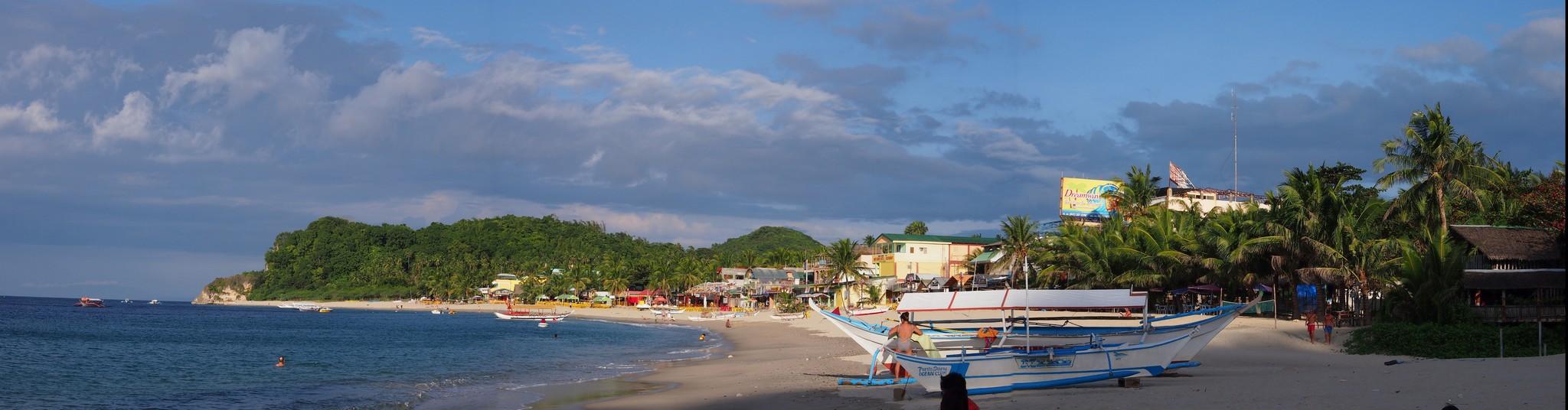 P1316828 Pano Filipinas Mindoro Puerto Galera White Beach