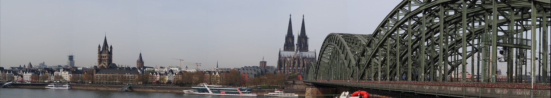 P3315149 Pano Colonia Catedral Alemania Unesco