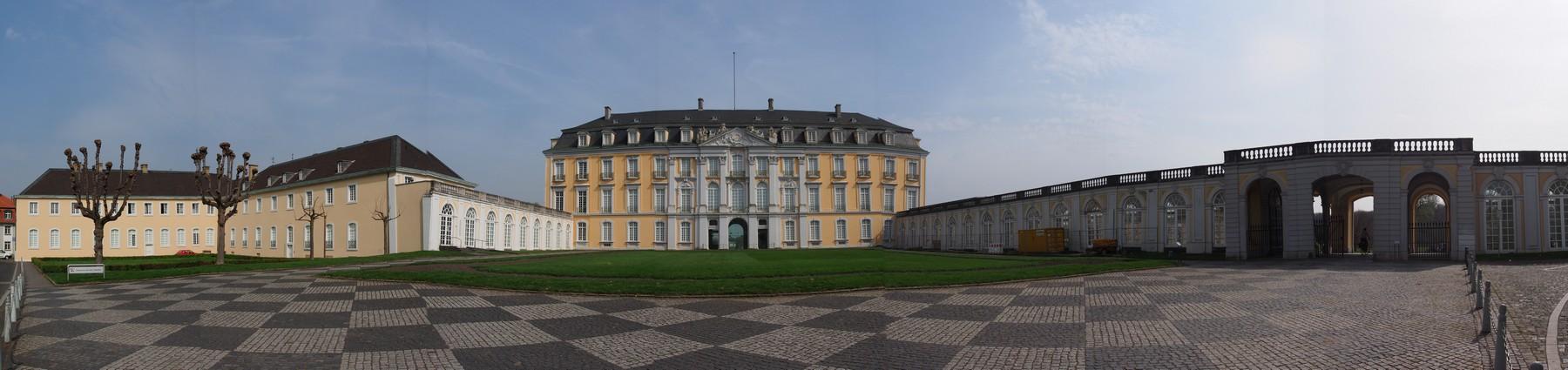 P4015496 Pano Palacio Augustusburg Bruhl Alemania UNESCO