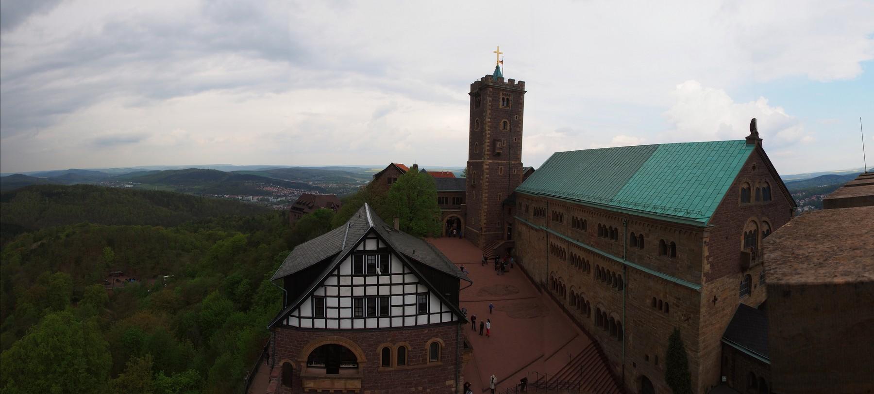 P4217894 Pano Castillo de Wartburg Unesco Alemania