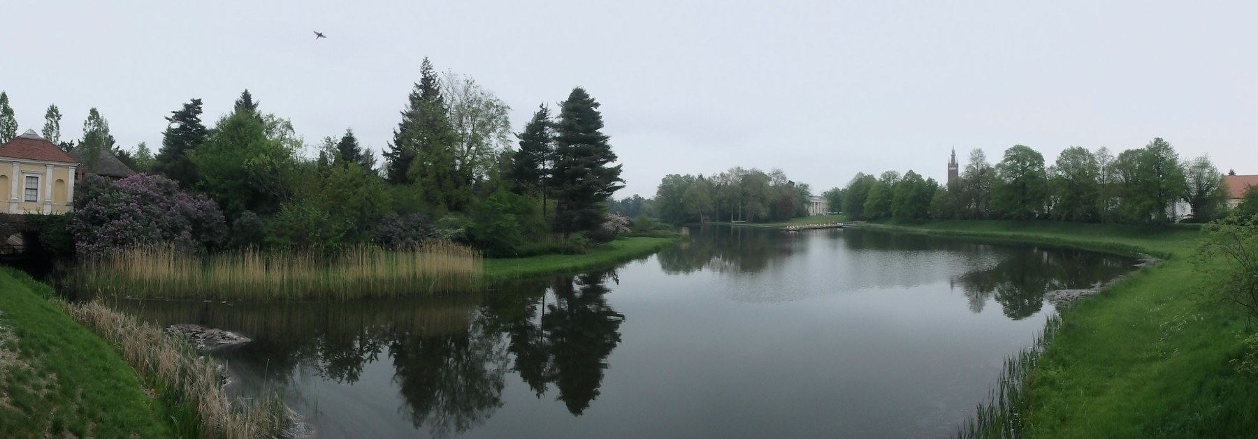 P4240121 Pano Reino de los jardines de Dessau-Wörlitz