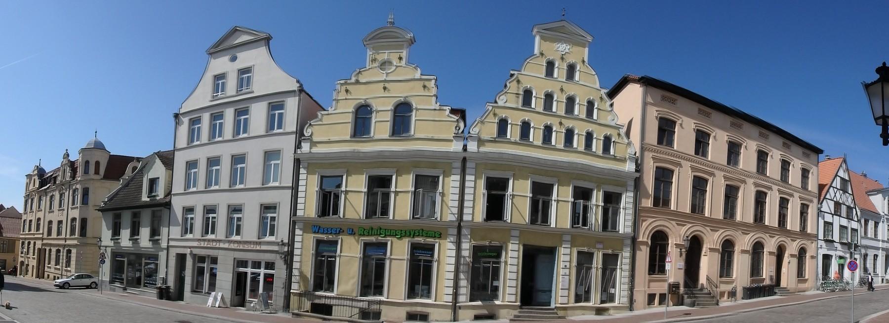 P4290268 Pano Casco historico Wismar Unesco Alemania