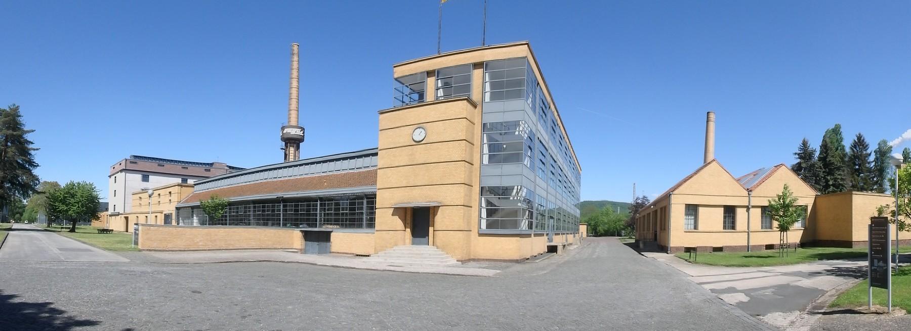 P5030007 Pano fábrica de Fagues en Alfeld Unesco Alemania