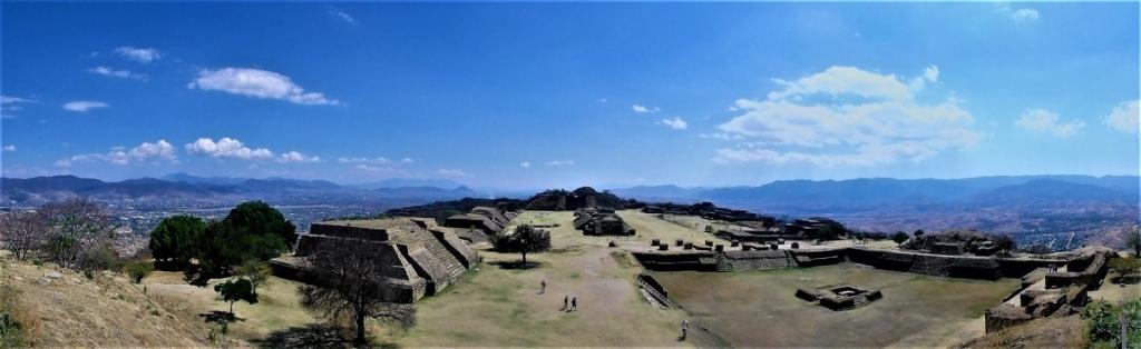P3310404 Pano Oaxaca Monte Alban Patrimonio Humanidad UNESCO