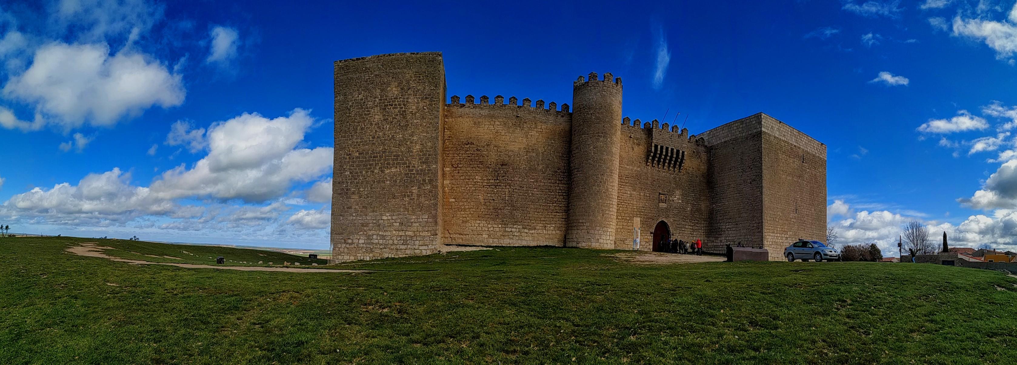 Castillo de Montealegre provincia de Valladolid, Castilla y León, España